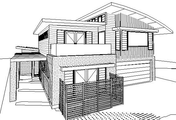 Archizen Architects New Home Development Approval Greenacre Rd Connells Point Kogarah City Council