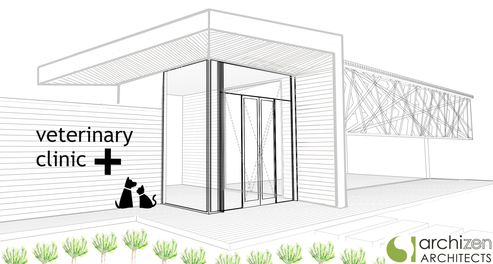Archizen Architects Veterinary Clinic Animal Hospital Boarding Kennels Pet Hotels Architectural Design Sydney Melbourne Brisbane Perth Auckland Wellington Christchurch Australia NZ.jpg