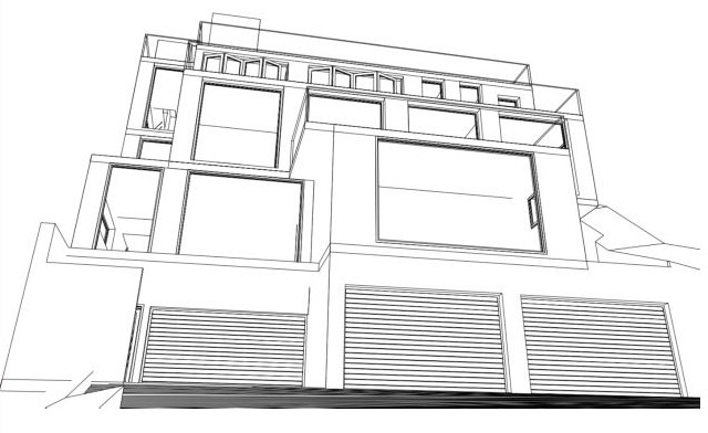 Difficult Sloping Steep Site Architects Archizen Design Sutherland Shire Eastern Suburbs St George Hurstville