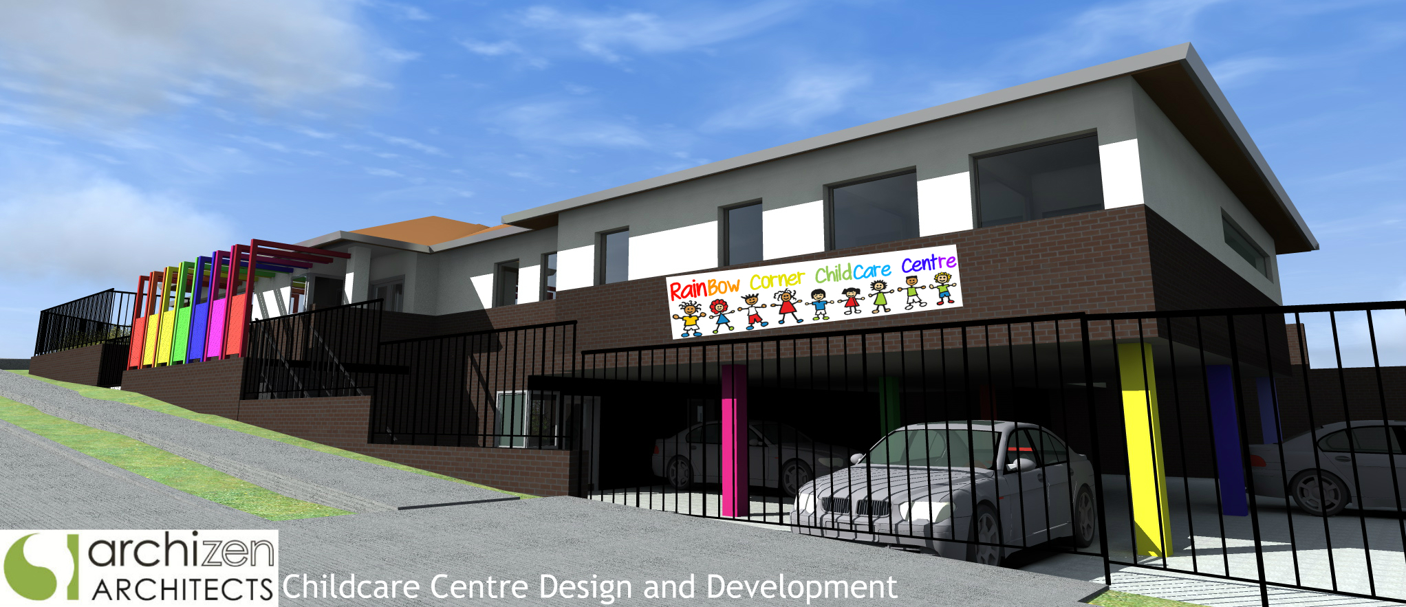 Mortdale Childcare Architectural Design Preschool Long Day Care Sydney Hurstville Council Architects Archizen Kindergarten Parramatta Liverpool North Sydney Inner West Sydney Eastern Suburbs Sutherland Shire