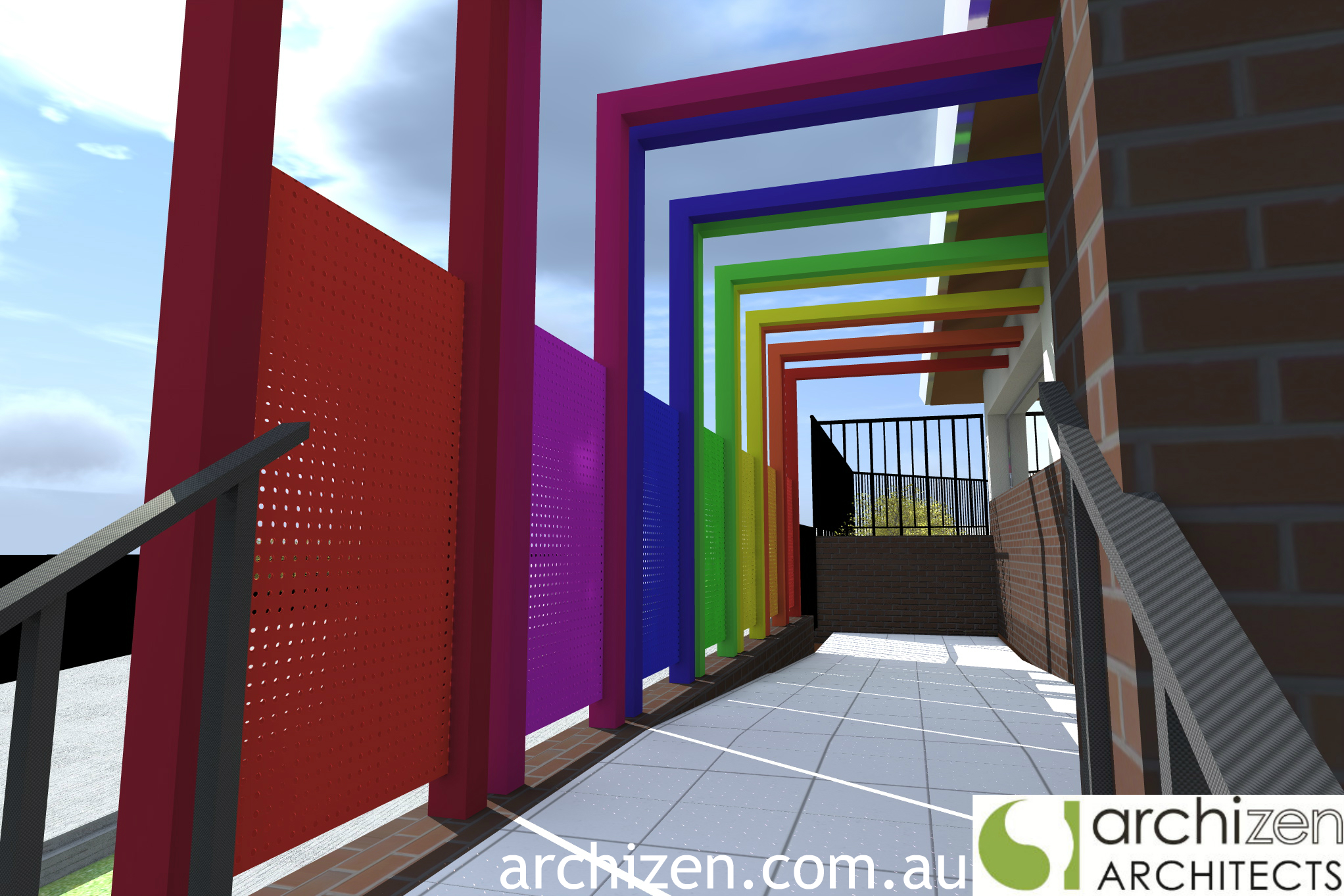 Mortdale Childcare Architectural Design Preschool Long Day Care Sydney Hurstville Council Architects Archizen Kindergarten 2