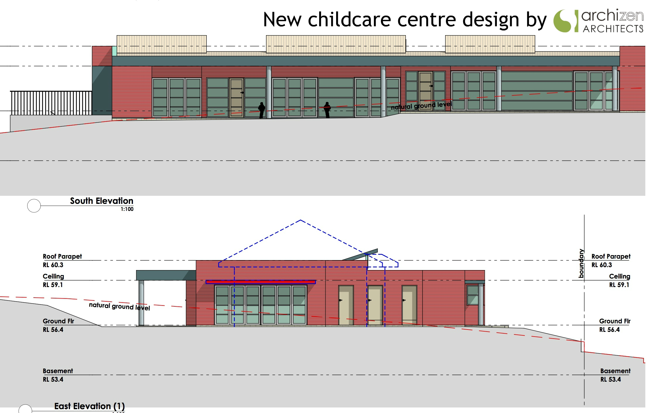 Archizen Architects New Childcare Centre design Pre Schools Early learning Centre Education kindergarten architectural design Sydney Dapto Wollongong