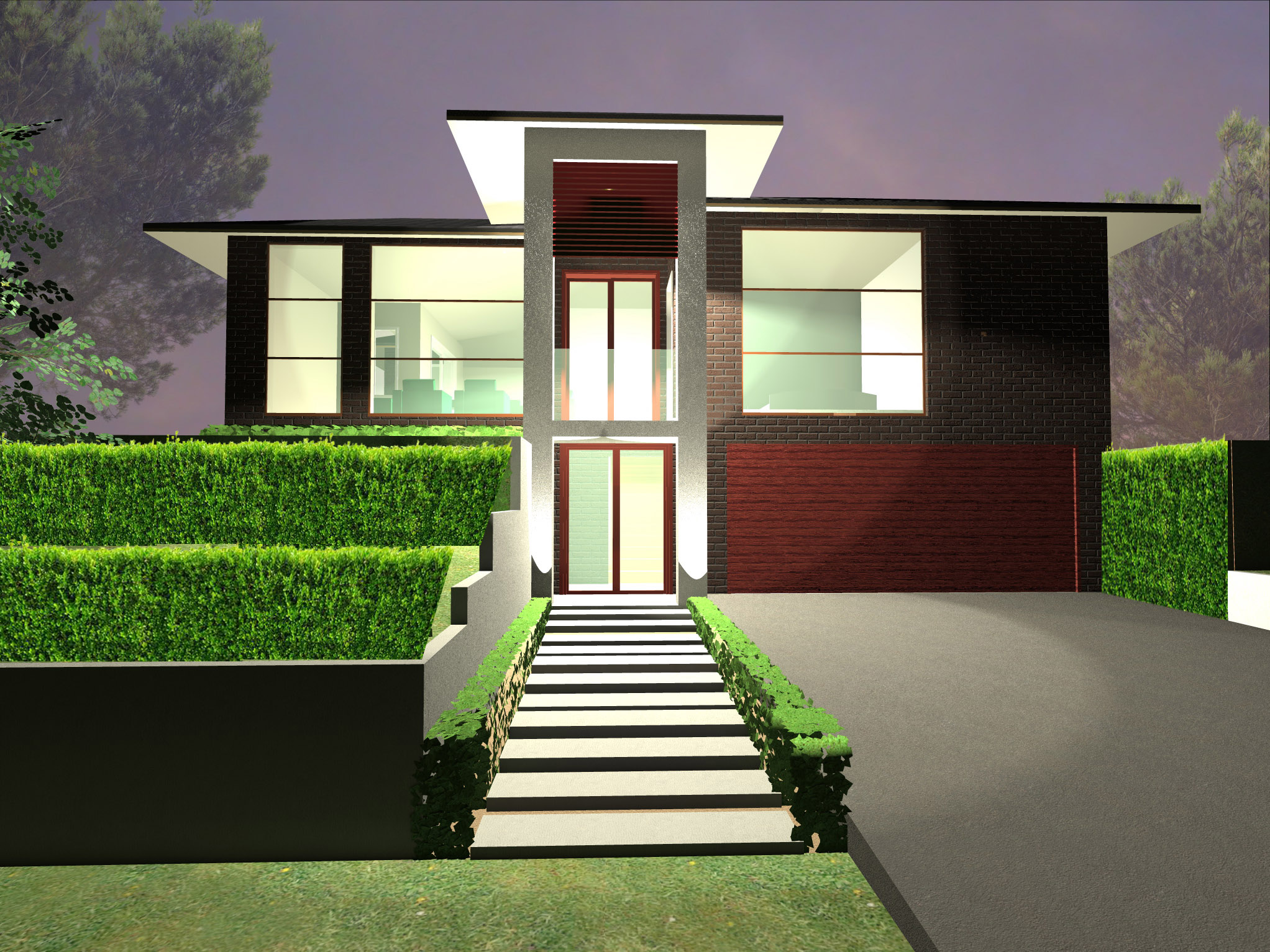 Archizen architects designing dual occupancy townhouses for Dual occupancy home designs sydney